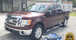 Ford F-150 Lariat, Royal Red Clearcoat Metallic, 2009