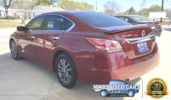 Nissan Altima S, Cayenne Red, 2015 full